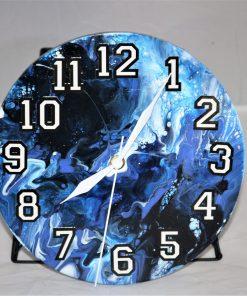 """8"""" Clock in Blue"""